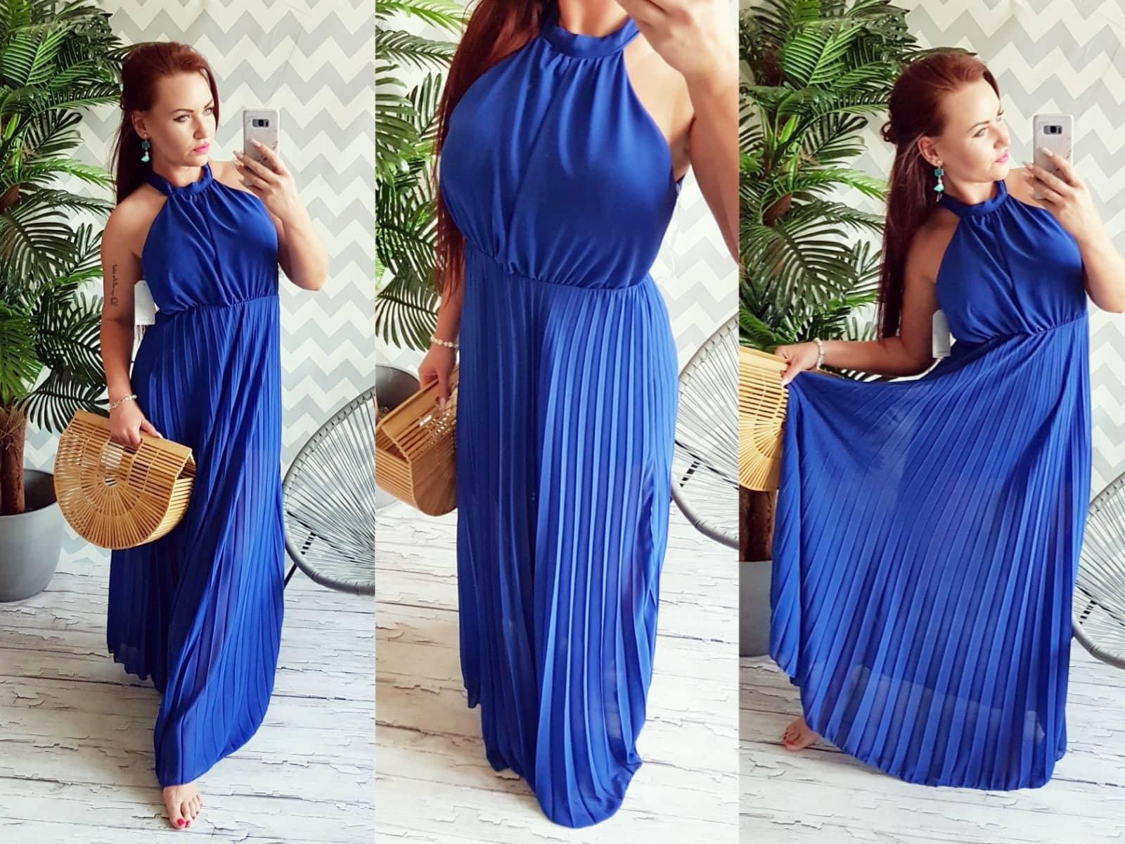 982c3b2546b5 Letní šaty modré empty