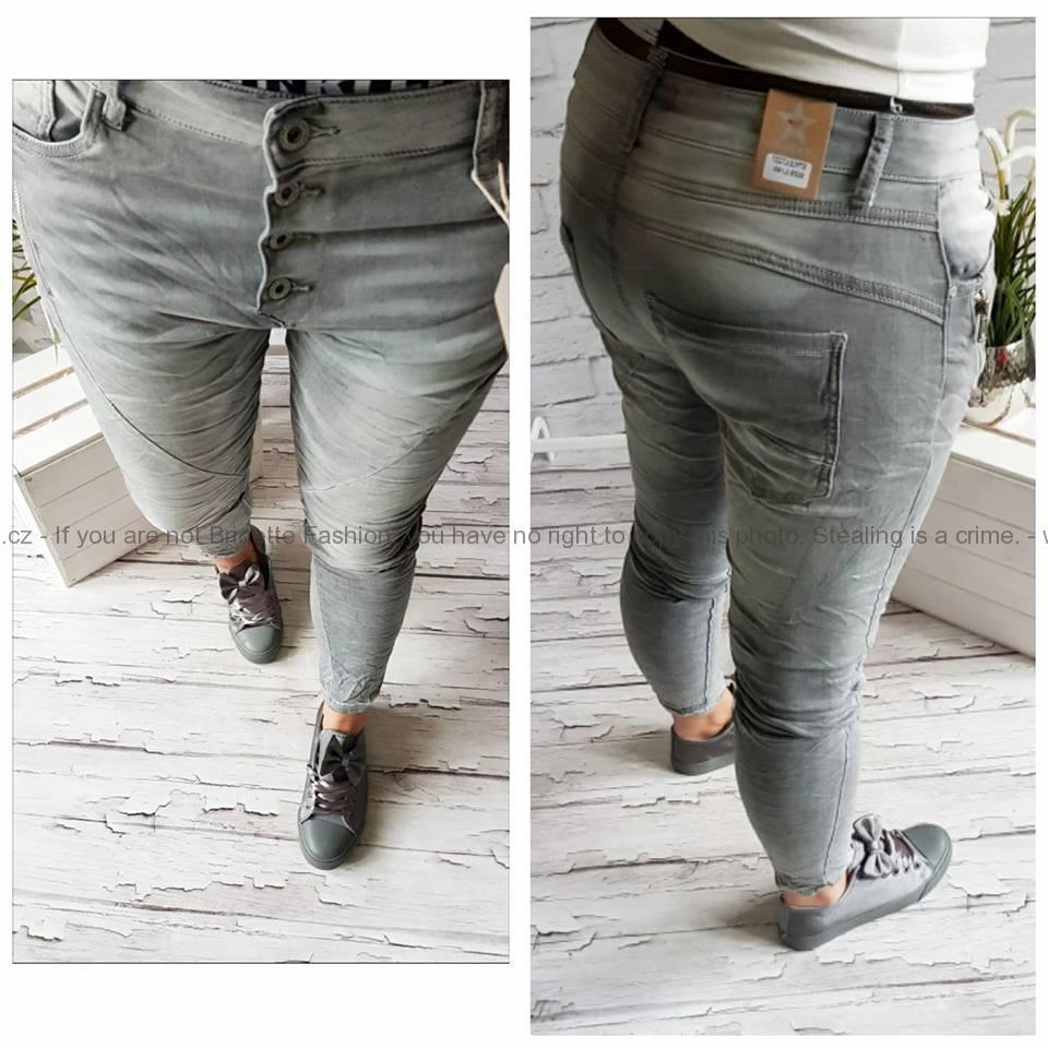 Strečové baggy džíny (jsou hodně elastické doporučujeme objednávat o číslo  menší 15833f8ac3