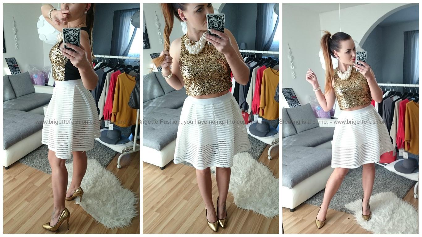 Áčková společenská sukně  563e65c9e3