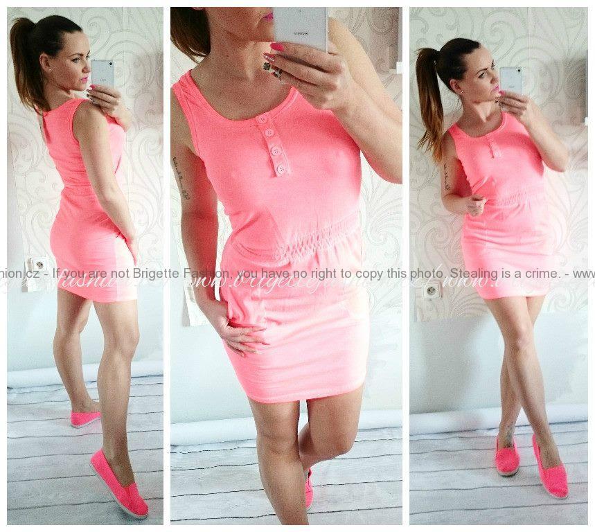Letní sportovní šaty - bavlna  9ecda5e377